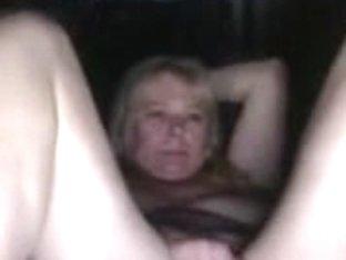 Horny blonde masturbates so hot