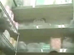 Voyeur TROC Likes Spying in Store