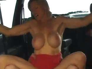 colette drilled in the car