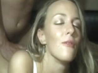 hot golden-haired talks smutty to spouse cuck hubby