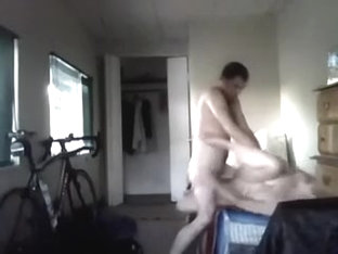 Seducing a mother i'd like to fuck lady for a quickie on hidden cam in my room