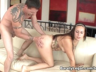 Horny pornstar in Crazy Hardcore, Brunette sex scene
