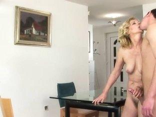 Mature blonde Lili enjoys being screwed hard