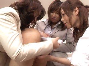 Horny Japanese sluts Hinata Komine, Mirei Yokoyama, Nachi Sakaki in Exotic JAV censored Fetish, Gr.