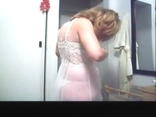 Wife filmed by hubby