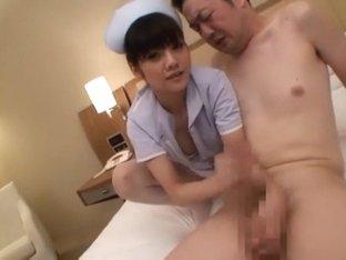 Exotic Japanese slut Rei Mizuna in Incredible Stockings/Pansuto, Nurse/Naasu JAV movie