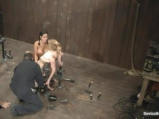 Jessie Cox, Ami Emerson, and Isis Love Part 3 of 4 of the September Live Feed