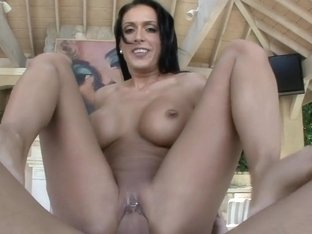 Jessica Jaymes Takes Dick Poolside