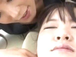 Japanese Lesbian Beauty Salon - Part 1