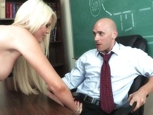 Big Tits at School: Teaching Mr. Sins
