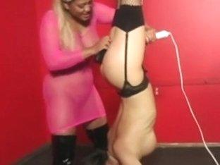 Cruel Black Mistress Has Some Crazy Fun