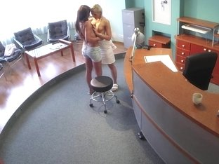 Nurse pussyeating busty patient
