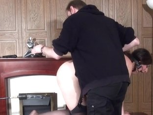 Sick Domination and Fake Penis Machine Fucking of Janna