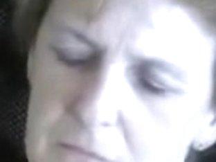Beautiful mature woman has a nice dildo masturbation