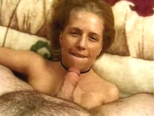 Teabagged and cum discharged down her face hole
