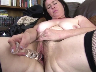 Awesome mature lady makes her first porn video