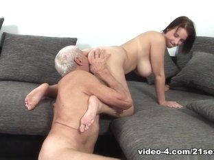 Amazing pornstar in Incredible Oldie, Facial sex clip