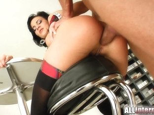 All Internal Diana's tight little hot hole gets max load of sperm