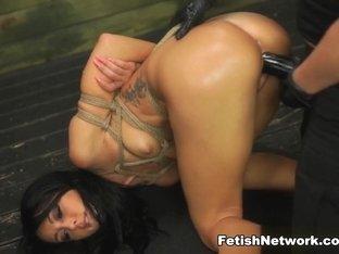 Horny pornstars Sabrina Banks, Brooklyn Daniels in Crazy Brunette, College porn clip