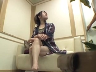 Perfect Japanese babe banged in voyeur massage video