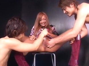 Amazing Japanese girl Haruka Sanada, Erika Kirihara, Ayaka Tomoda in Exotic Close-up JAV scene