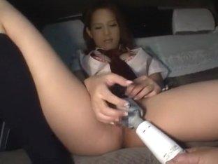 Horny Japanese chick in Crazy Solo Girl, Masturbation/Onanii JAV scene