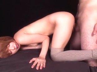 Exotic Japanese whore Mayu Nozomi in Incredible Cunnilingus, Small Tits JAV clip