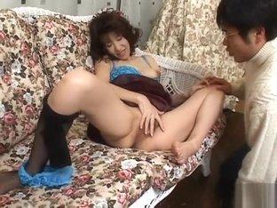 Exotic Japanese slut in Incredible 69, Blowjob/Fera JAV clip