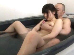 Horny Japanese whore Arisa Nakano, Yuko Kohinata in Amazing Showers JAV video