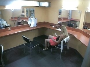 Voyeur makeup room