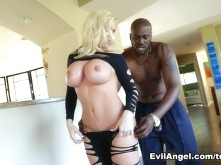 Exotic pornstars Alena Croft, Lexington Steele in Hottest Pornstars, Big Tits porn clip