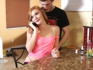 Fabulous pornstar Alex Tanner in crazy redhead, blowjob adult movie