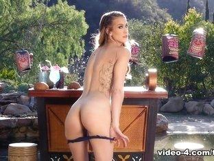 Exotic pornstar Stefanie Joy in Fabulous Redhead, Tattoos sex movie