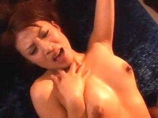 Fabulous Japanese model Junna Aoki in Hottest Stockings/Pansuto, Dildos/Toys JAV clip
