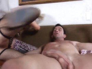 Allysin Wonderland came to fuck her best friend's husband Billy Glide
