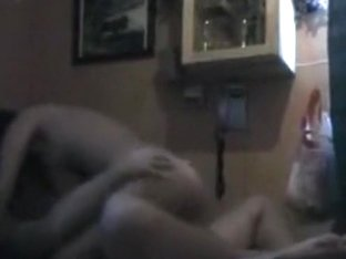 Brunette has oral, cowgirl and missionary sex with her bf.