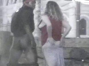 Voyeur vid of interracial public sex