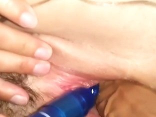 This nasty amateur masturbation video shows me playing with sex toys, drilling my hairy cunt with .