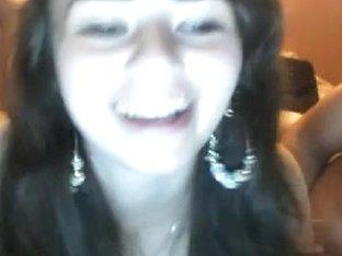 Croatian Gal Gettin Lustful On Livecam