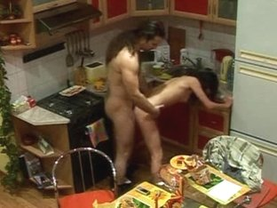 Had kitchen sex with GF
