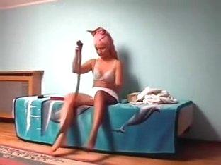 Kirsty Blue  wearing stockings