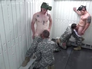 Hot male military amputee gay Glory Hole Day of Reckoning