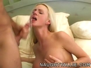 Allie and her spouse in a wife swapping eating swinger fuckfest