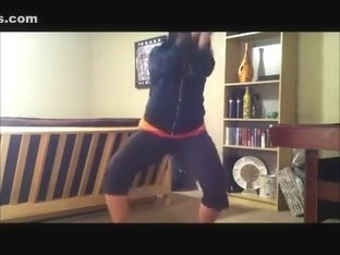 Fabulous twerking web camera solo episode