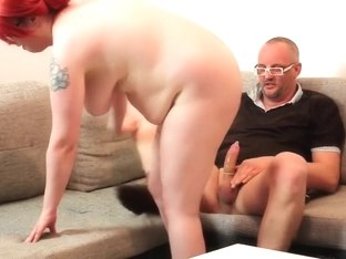 I'm facialized at the end of my bbw homemade video