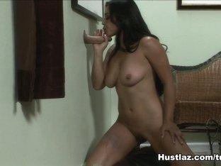 Horny pornstar in Incredible Glory Hole, Latina xxx movie