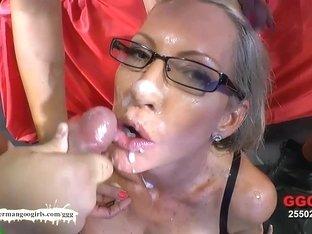 Fabulous pornstar Emma Starr in Hottest Gangbang, Bukkake porn video