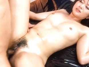 Best Japanese chick Haruka Uchiyama in Crazy JAV uncensored Blowjob video