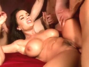 Lisa Ann Gang Bang  Bukkake