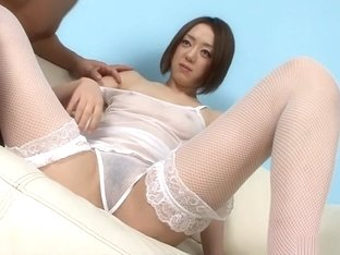 Hottest Japanese model Rina Yuuki in Fabulous JAV uncensored Fingering scene